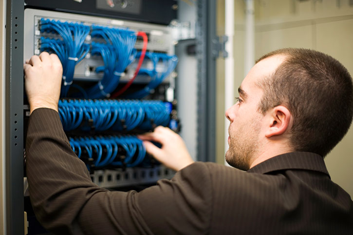 GlobalTalk offer a full range of cabling services Image
